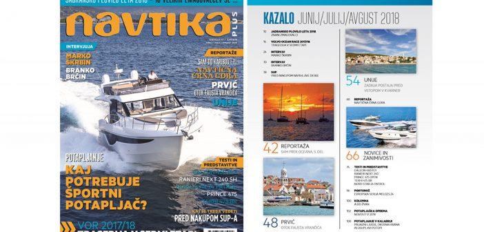 NOVO! 37. številka revije Navtika PLUS