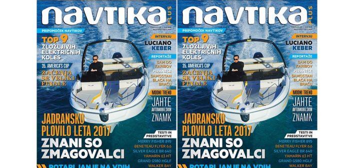 NOVO! 33. številka revije Navtika PLUS