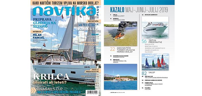 NOVO! 41. številka revije Navtika PLUS