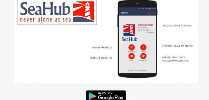 SeaHub – Globalna skupnost skiperjev za vzajemno pomoč in druženje