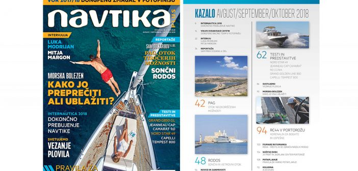 NOVO! 38. številka revije Navtika PLUS