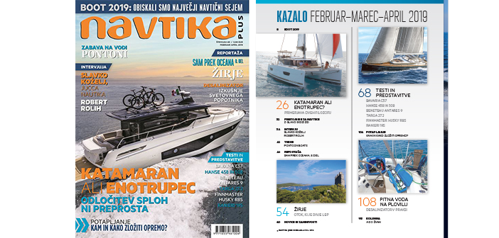 NOVO! 40. številka revije Navtika PLUS