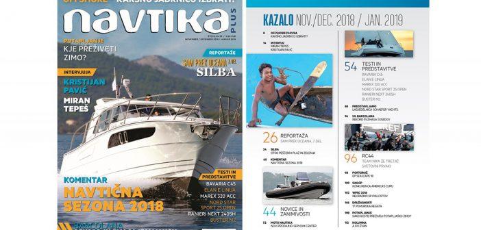 NOVO! 39. številka revije Navtika PLUS