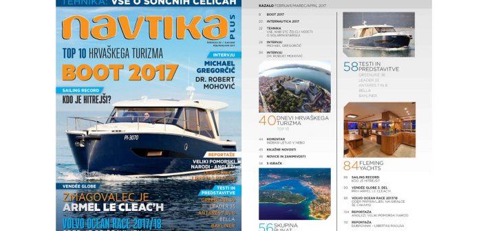 NOVO! 32. številka revije Navtika PLUS
