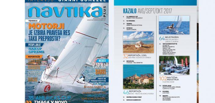 NOVO! 34. številka revije Navtika PLUS