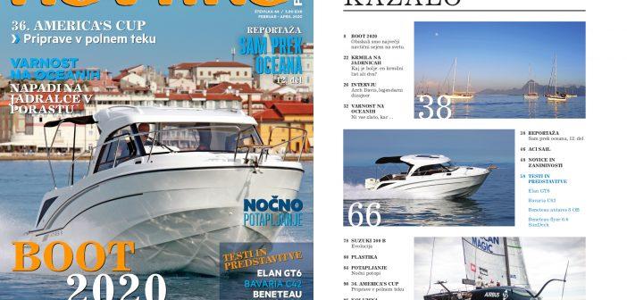NOVO! 44. številka revije Navtika PLUS